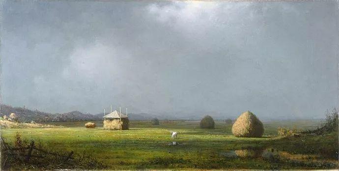 风景画 美国画家赫德(1819-1904)插图45