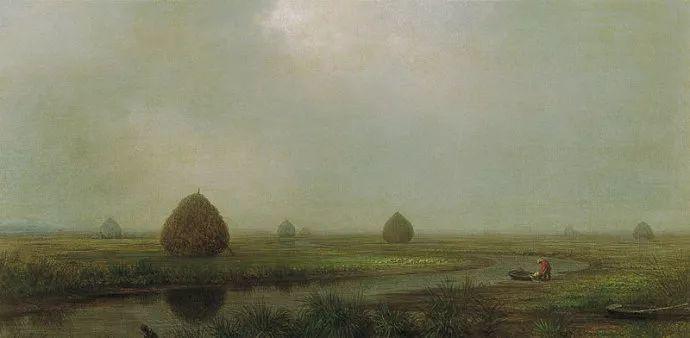 风景画 美国画家赫德(1819-1904)插图47