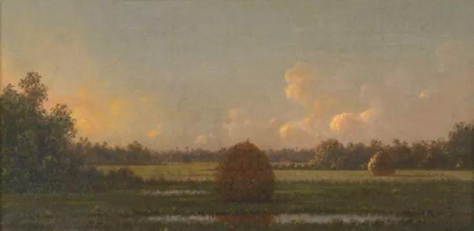 风景画 美国画家赫德(1819-1904)插图51