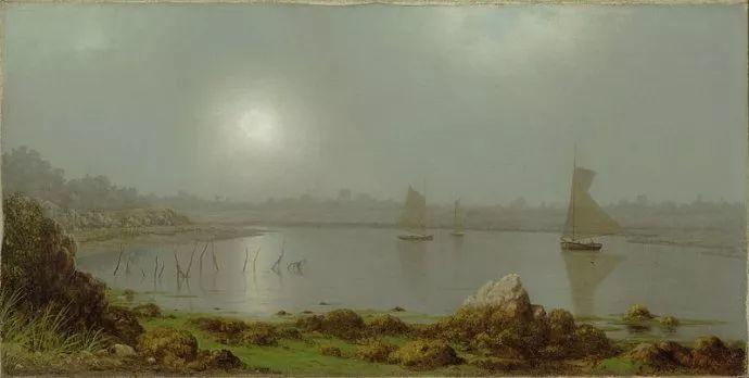 风景画 美国画家赫德(1819-1904)插图55