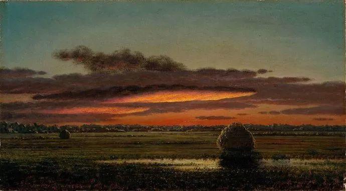 风景画 美国画家赫德(1819-1904)插图69