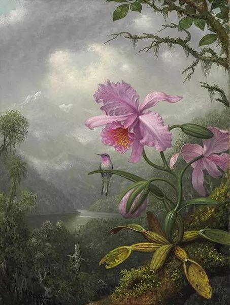 风景画 美国画家赫德(1819-1904)插图73