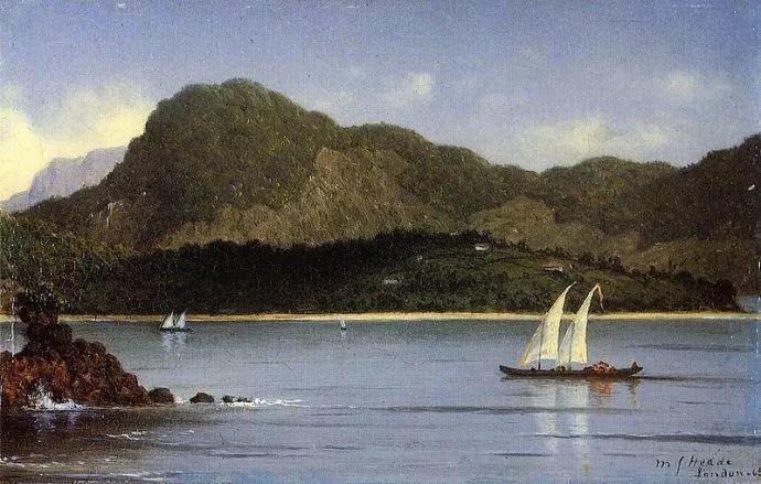 风景画 美国画家赫德(1819-1904)插图75