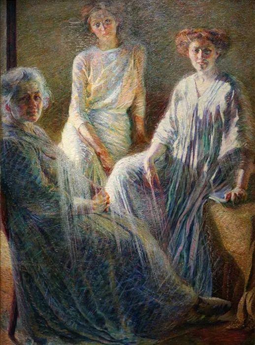 意大利未来派中最著名画家波丘尼(1882-1916)插图3