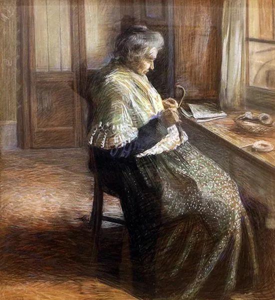 意大利未来派中最著名画家波丘尼(1882-1916)插图5