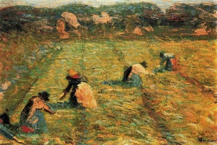 意大利未来派中最著名画家波丘尼(1882-1916)插图9