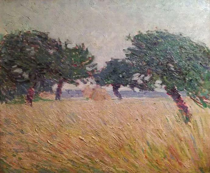 意大利未来派中最著名画家波丘尼(1882-1916)插图13