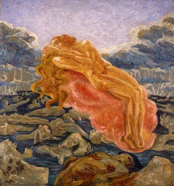 意大利未来派中最著名画家波丘尼(1882-1916)插图15