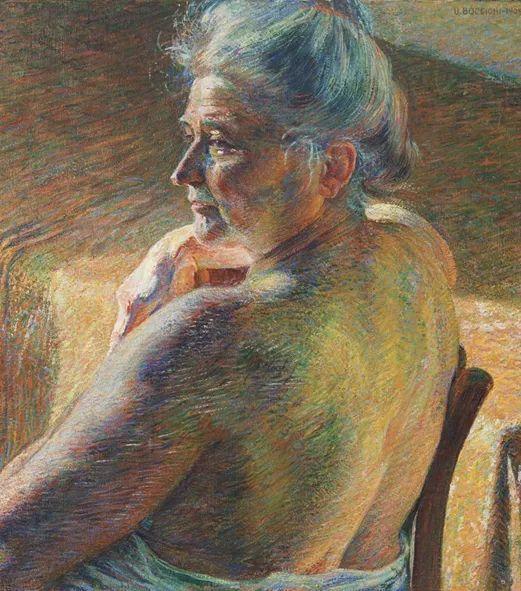 意大利未来派中最著名画家波丘尼(1882-1916)插图17