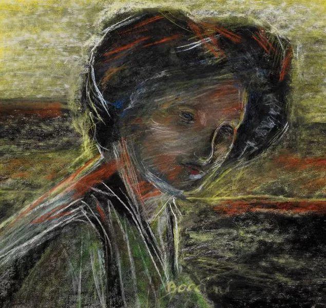 意大利未来派中最著名画家波丘尼(1882-1916)插图19