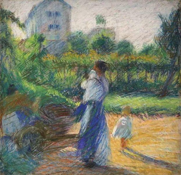意大利未来派中最著名画家波丘尼(1882-1916)插图25