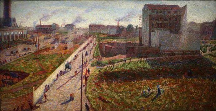 意大利未来派中最著名画家波丘尼(1882-1916)插图27