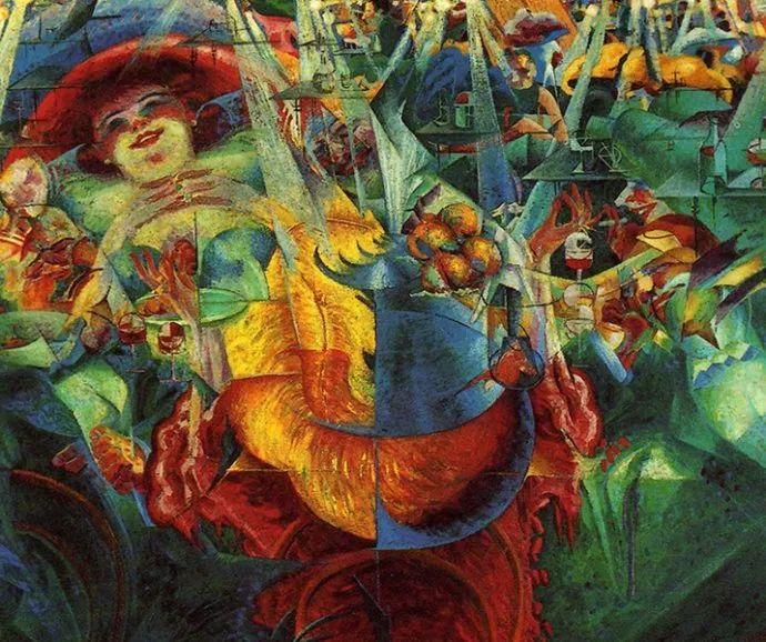 意大利未来派中最著名画家波丘尼(1882-1916)插图35