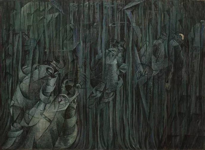 意大利未来派中最著名画家波丘尼(1882-1916)插图45
