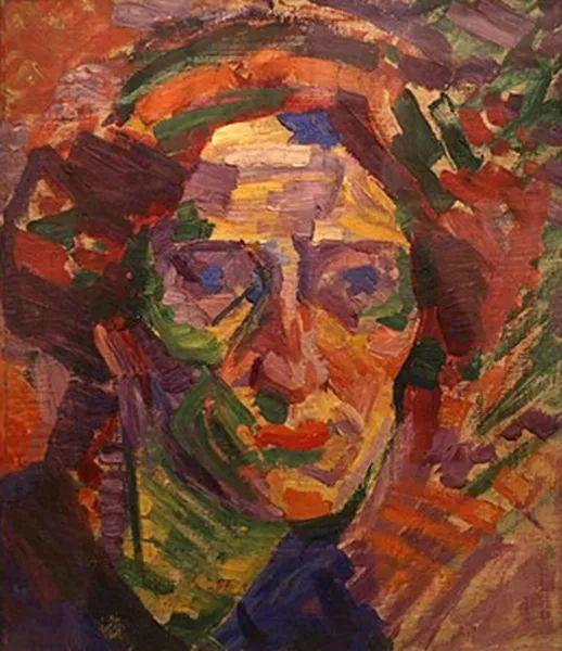 意大利未来派中最著名画家波丘尼(1882-1916)插图47