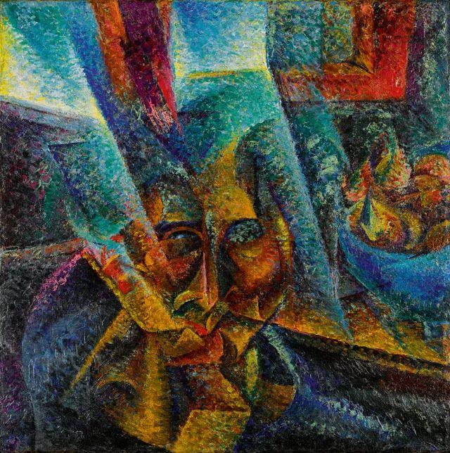 意大利未来派中最著名画家波丘尼(1882-1916)插图53