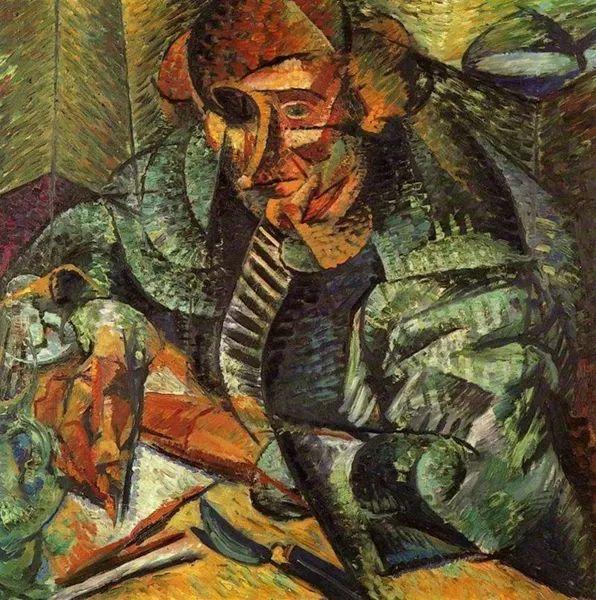 意大利未来派中最著名画家波丘尼(1882-1916)插图55