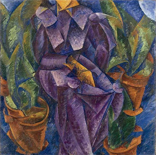 意大利未来派中最著名画家波丘尼(1882-1916)插图57