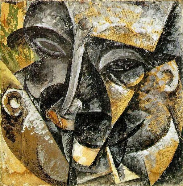 意大利未来派中最著名画家波丘尼(1882-1916)插图59