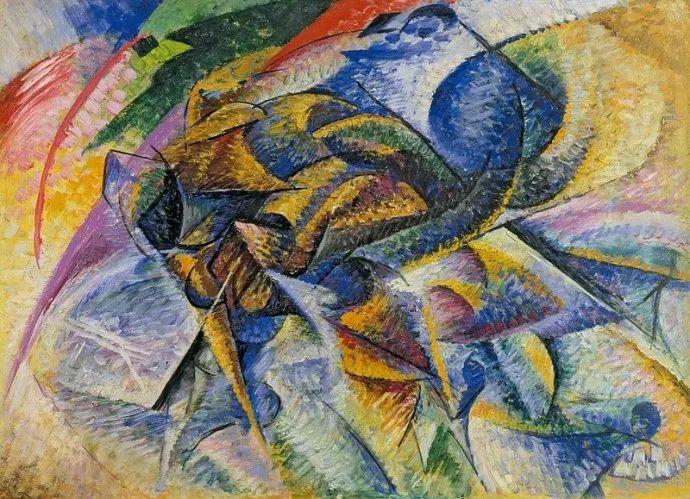 意大利未来派中最著名画家波丘尼(1882-1916)插图61