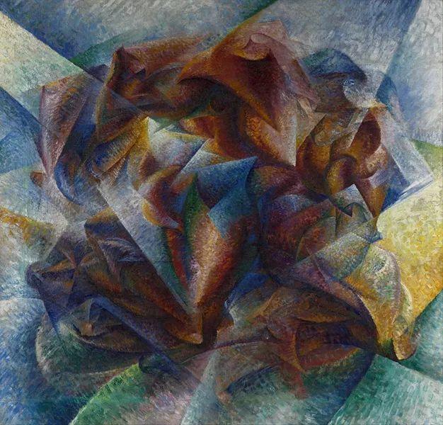 意大利未来派中最著名画家波丘尼(1882-1916)插图63