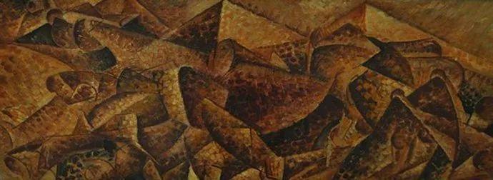 意大利未来派中最著名画家波丘尼(1882-1916)插图65