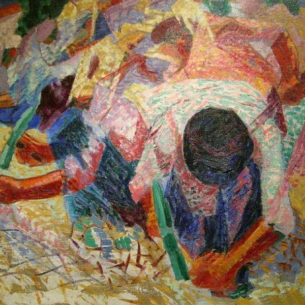 意大利未来派中最著名画家波丘尼(1882-1916)插图67