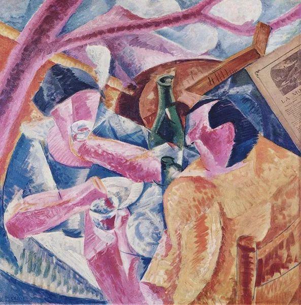 意大利未来派中最著名画家波丘尼(1882-1916)插图69