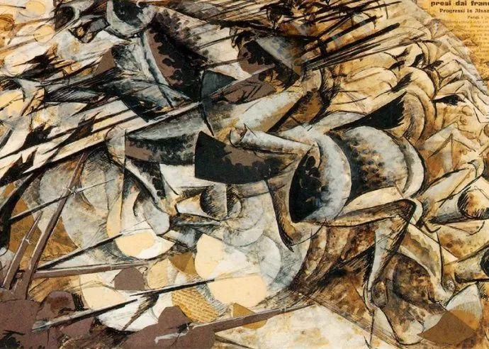 意大利未来派中最著名画家波丘尼(1882-1916)插图71