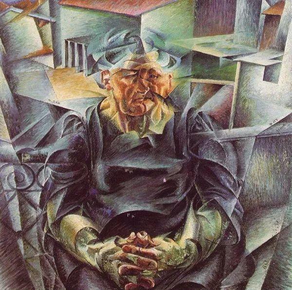意大利未来派中最著名画家波丘尼(1882-1916)插图73
