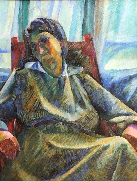 意大利未来派中最著名画家波丘尼(1882-1916)插图75