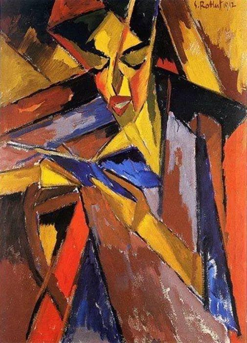 表现主义 德国画家罗特鲁夫(1884-1976)插图3