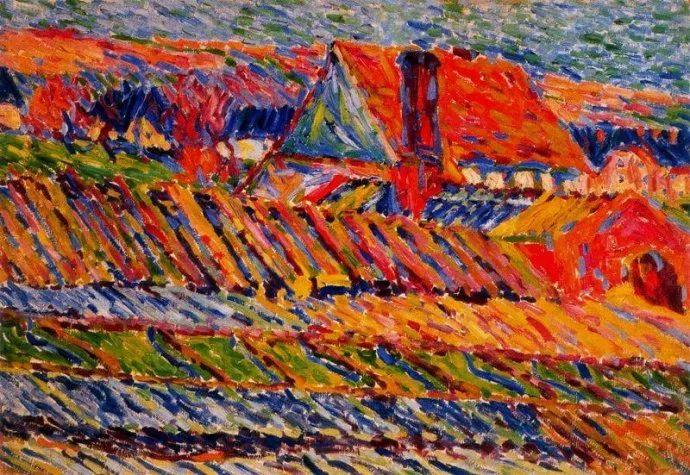 表现主义 德国画家罗特鲁夫(1884-1976)插图7