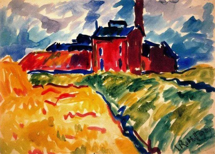 表现主义 德国画家罗特鲁夫(1884-1976)插图11