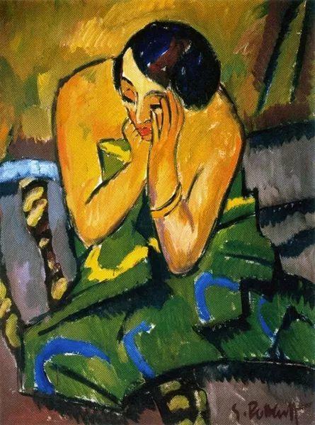 表现主义 德国画家罗特鲁夫(1884-1976)插图15