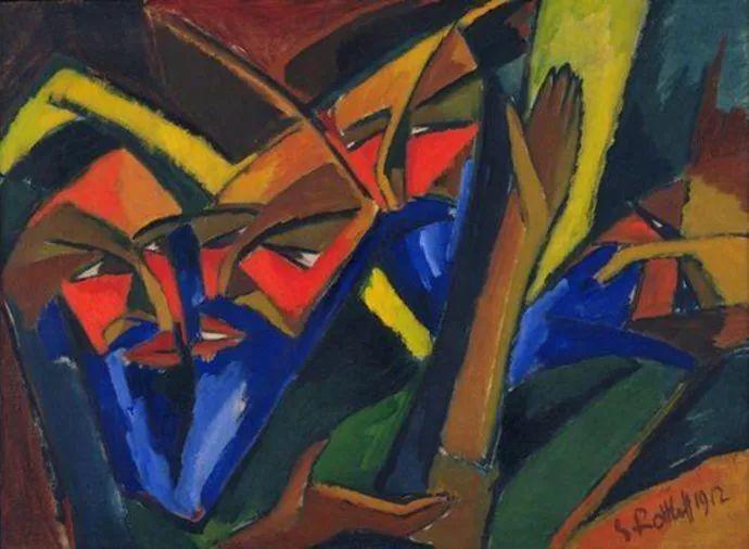表现主义 德国画家罗特鲁夫(1884-1976)插图17