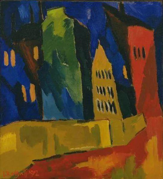 表现主义 德国画家罗特鲁夫(1884-1976)插图19