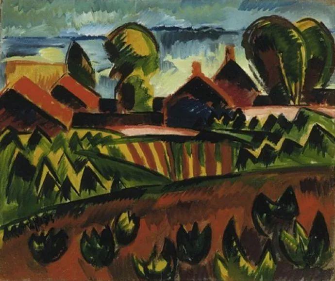 表现主义 德国画家罗特鲁夫(1884-1976)插图23