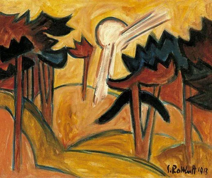 表现主义 德国画家罗特鲁夫(1884-1976)插图25