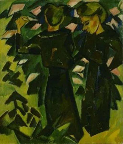 表现主义 德国画家罗特鲁夫(1884-1976)插图27
