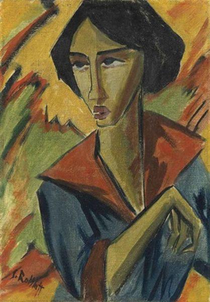 表现主义 德国画家罗特鲁夫(1884-1976)插图31