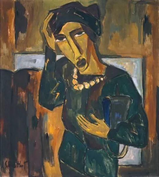 表现主义 德国画家罗特鲁夫(1884-1976)插图33