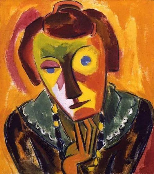 表现主义 德国画家罗特鲁夫(1884-1976)插图35