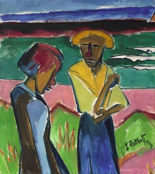 表现主义 德国画家罗特鲁夫(1884-1976)插图37