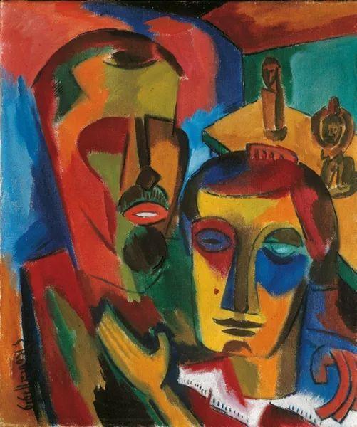 表现主义 德国画家罗特鲁夫(1884-1976)插图41