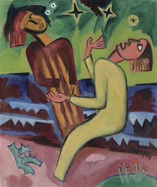 表现主义 德国画家罗特鲁夫(1884-1976)插图43