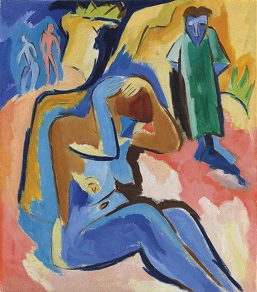 表现主义 德国画家罗特鲁夫(1884-1976)插图47