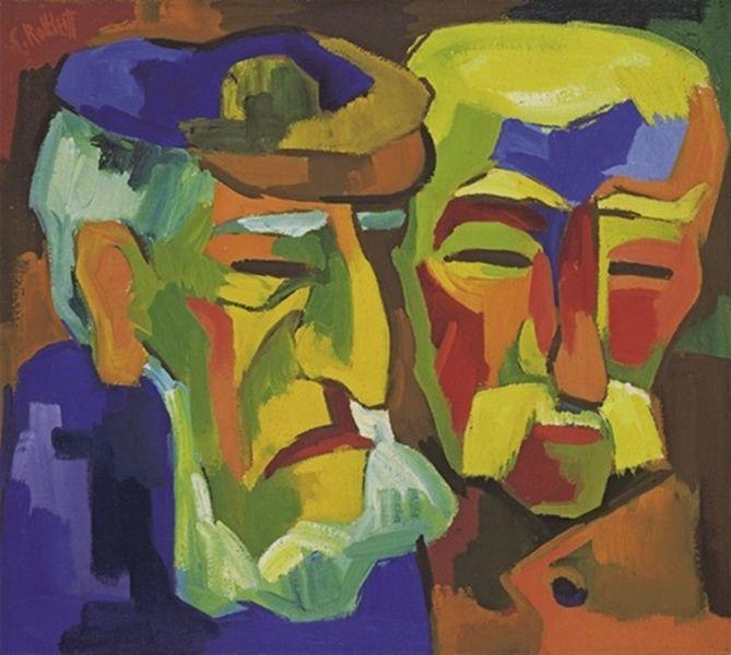 表现主义 德国画家罗特鲁夫(1884-1976)插图49