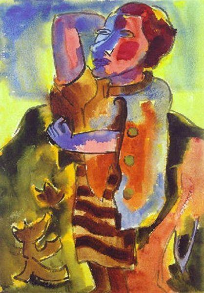 表现主义 德国画家罗特鲁夫(1884-1976)插图51
