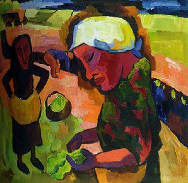 表现主义 德国画家罗特鲁夫(1884-1976)插图53